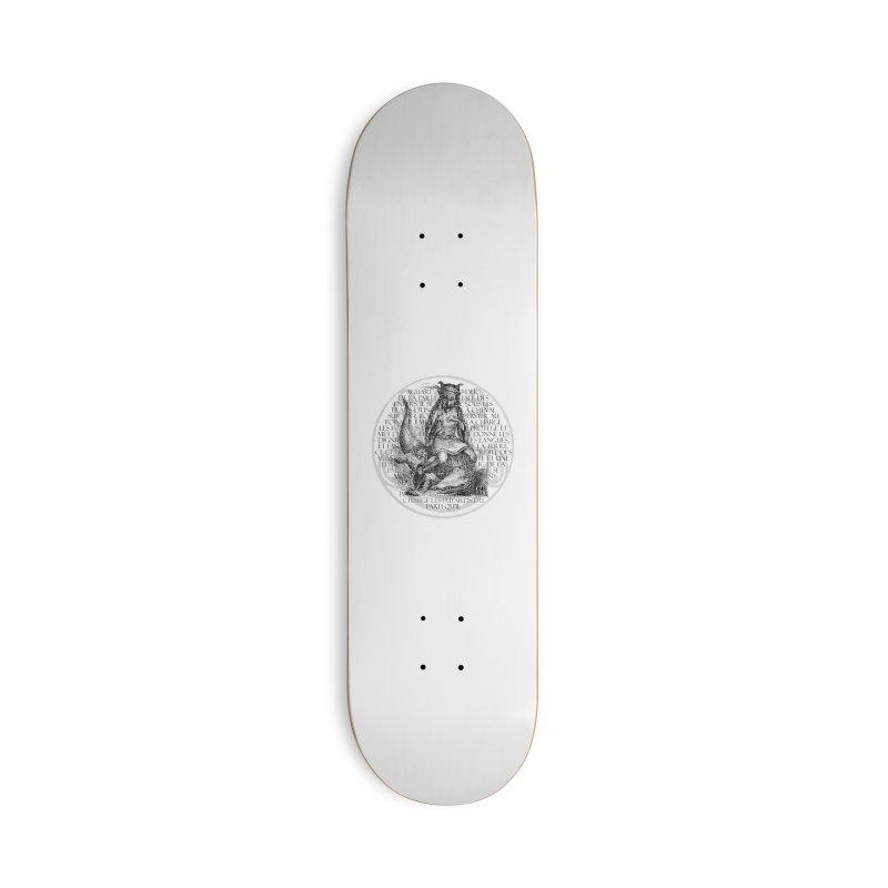 Hierarchia Inferni - Aguares Accessories Deck Only Skateboard by lostsigil's Artist Shop
