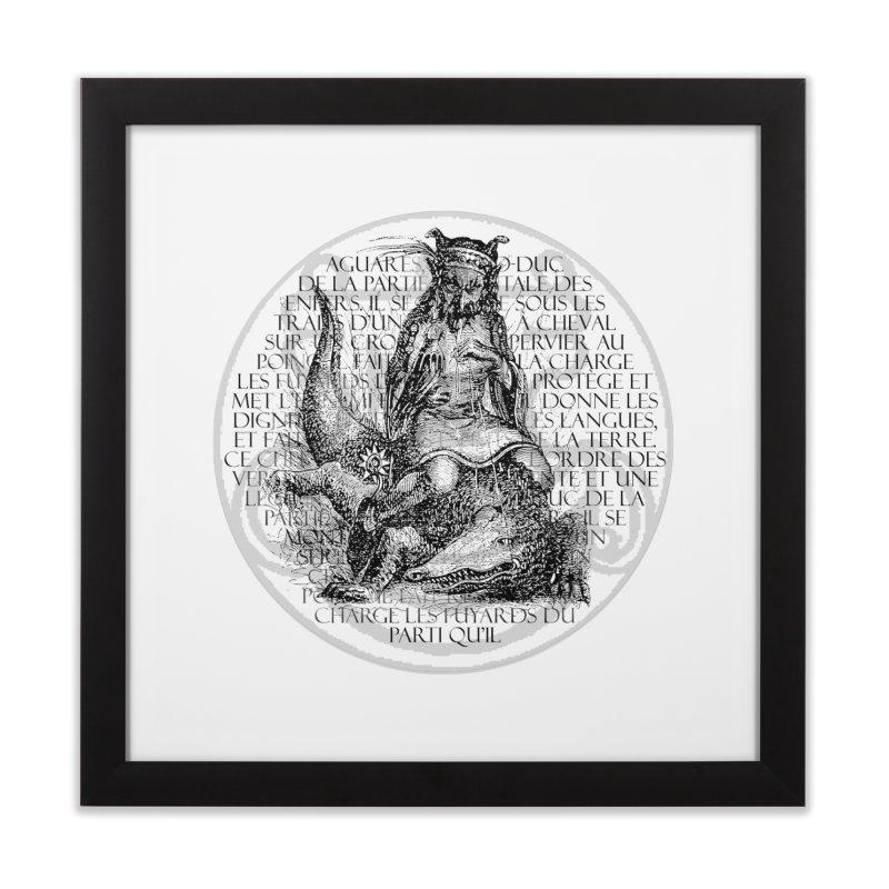 Hierarchia Inferni - Aguares Home Framed Fine Art Print by lostsigil's Artist Shop