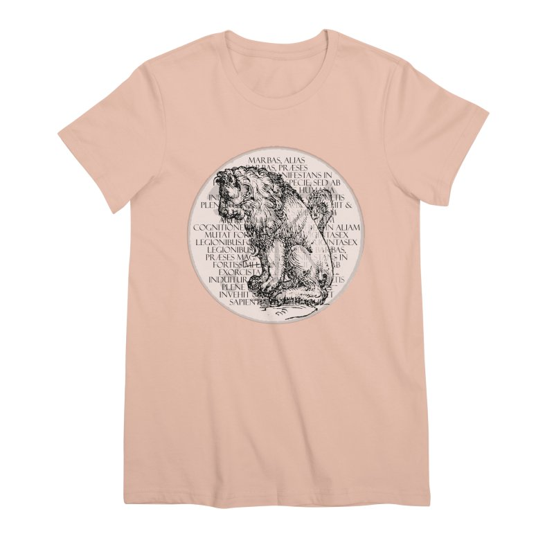 Hierarchia Inferni - Marbas Women's Premium T-Shirt by lostsigil's Artist Shop
