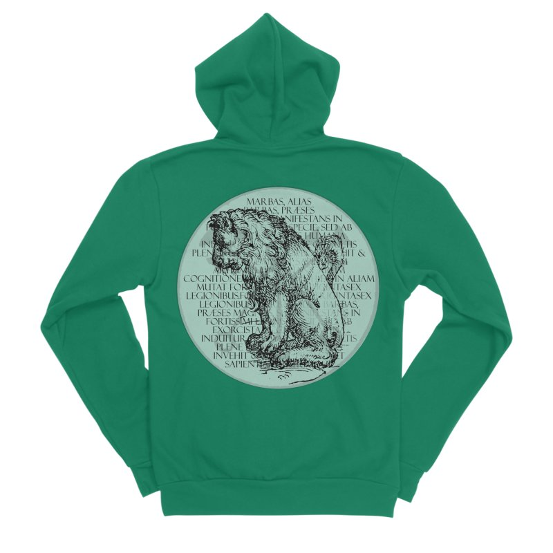 Hierarchia Inferni - Marbas Men's Sponge Fleece Zip-Up Hoody by lostsigil's Artist Shop