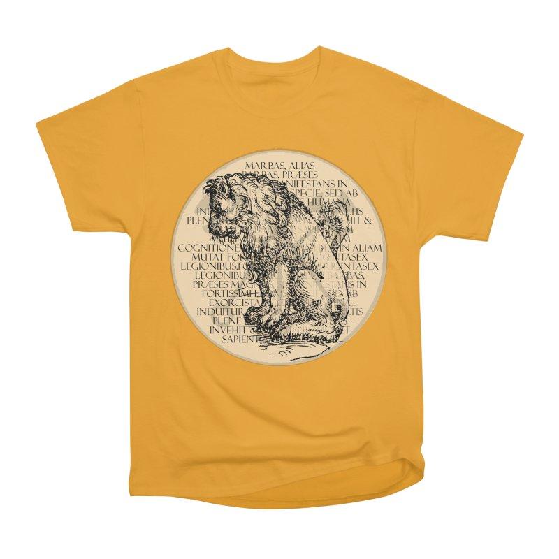 Hierarchia Inferni - Marbas Men's Heavyweight T-Shirt by lostsigil's Artist Shop