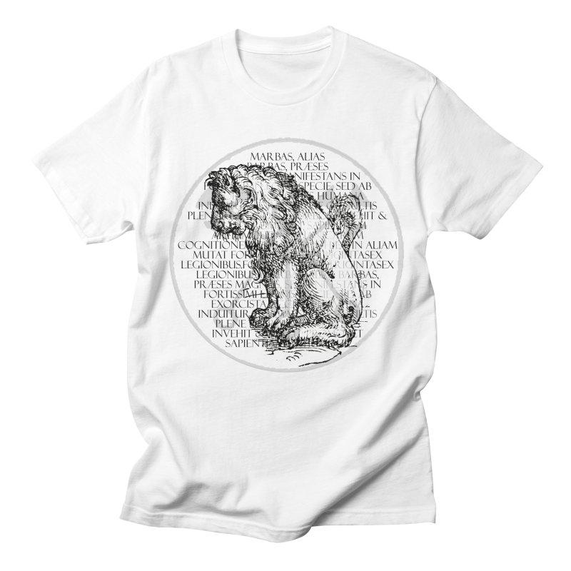 Hierarchia Inferni - Marbas Men's Regular T-Shirt by lostsigil's Artist Shop