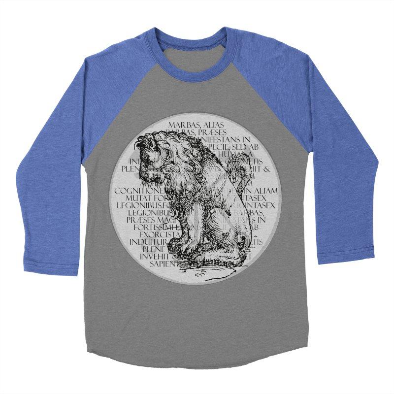 Hierarchia Inferni - Marbas Women's Baseball Triblend Longsleeve T-Shirt by lostsigil's Artist Shop