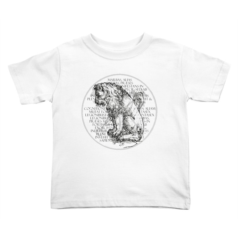 Hierarchia Inferni - Marbas Kids Toddler T-Shirt by lostsigil's Artist Shop