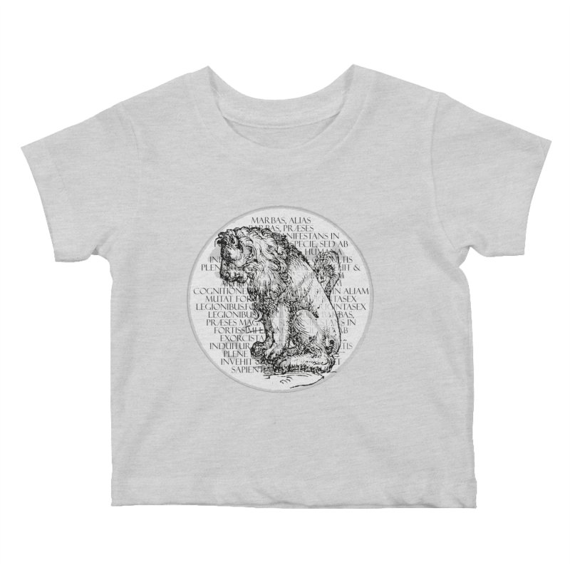 Hierarchia Inferni - Marbas Kids Baby T-Shirt by lostsigil's Artist Shop