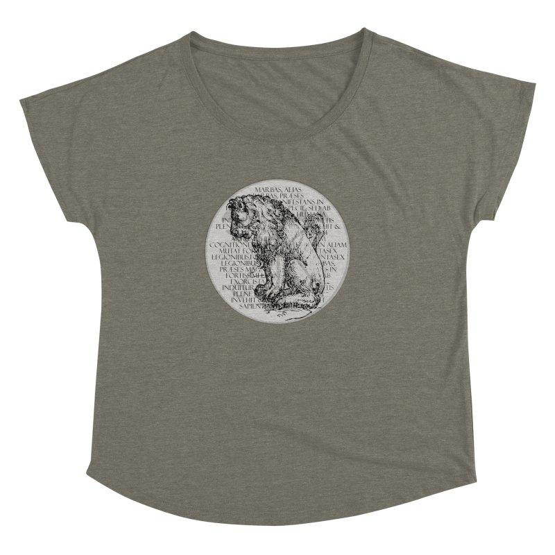 Hierarchia Inferni - Marbas Women's Dolman Scoop Neck by lostsigil's Artist Shop