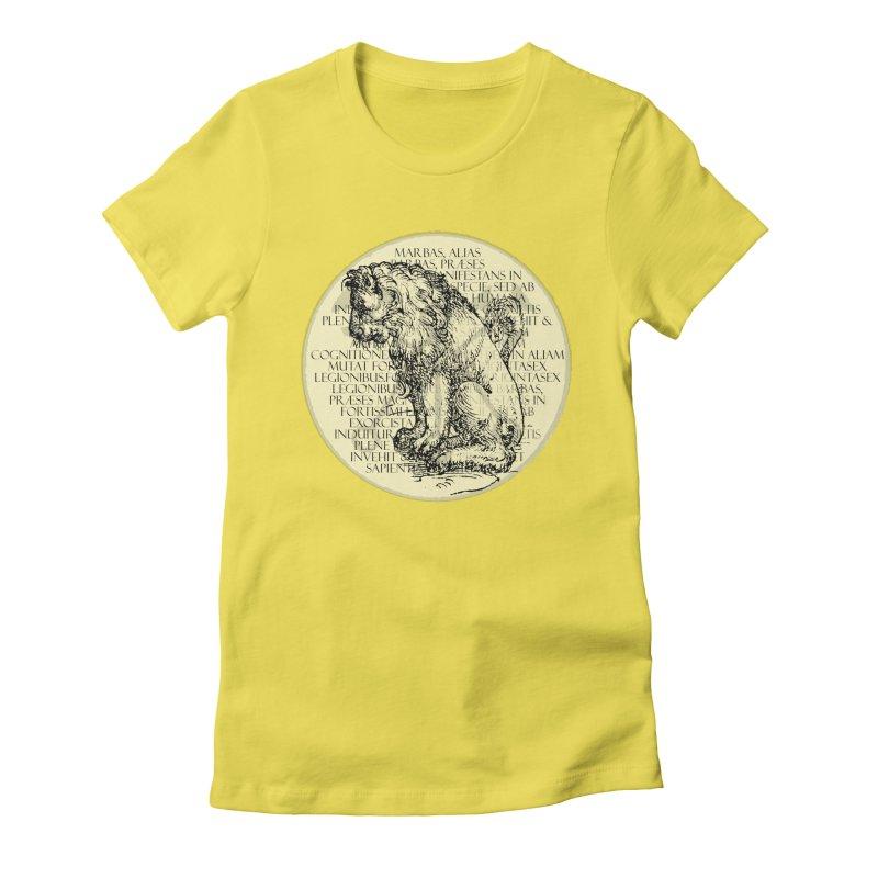 Hierarchia Inferni - Marbas Women's Fitted T-Shirt by lostsigil's Artist Shop