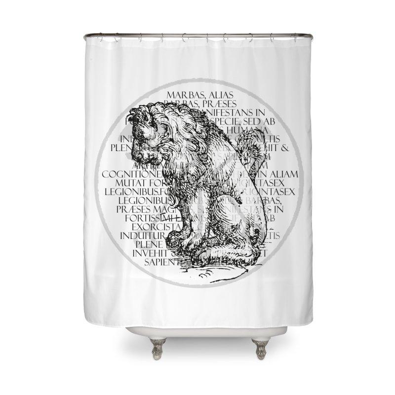 Hierarchia Inferni - Marbas Home Shower Curtain by lostsigil's Artist Shop