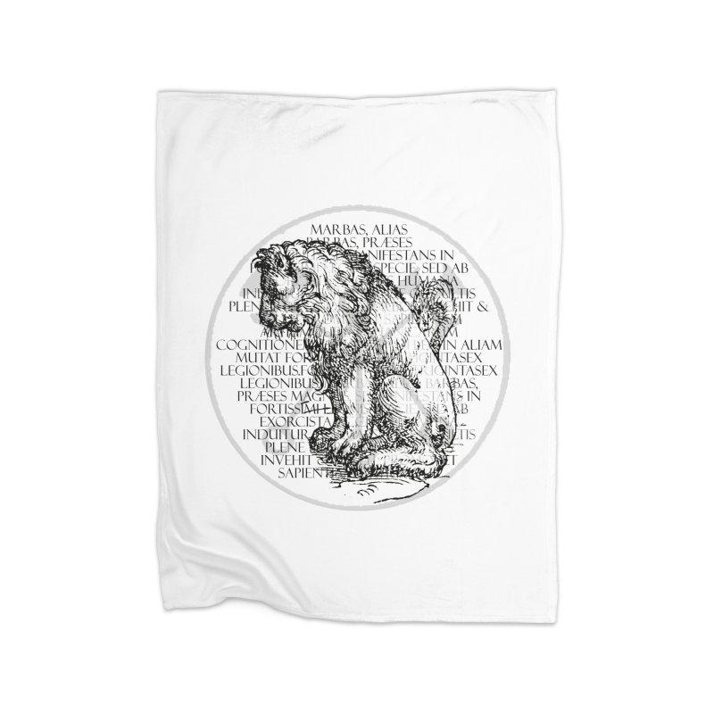 Hierarchia Inferni - Marbas Home Fleece Blanket Blanket by lostsigil's Artist Shop