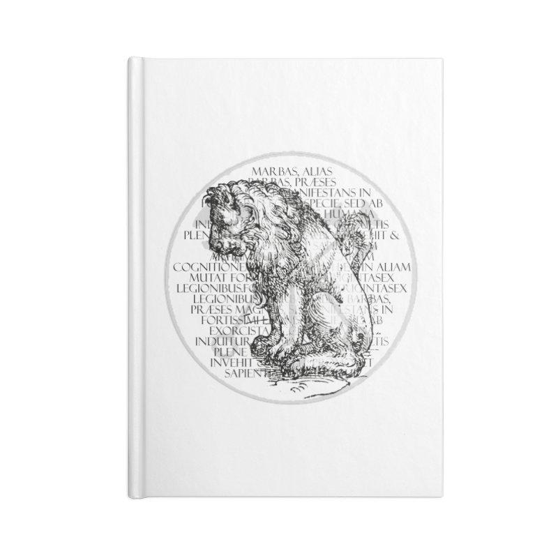 Hierarchia Inferni - Marbas Accessories Blank Journal Notebook by lostsigil's Artist Shop