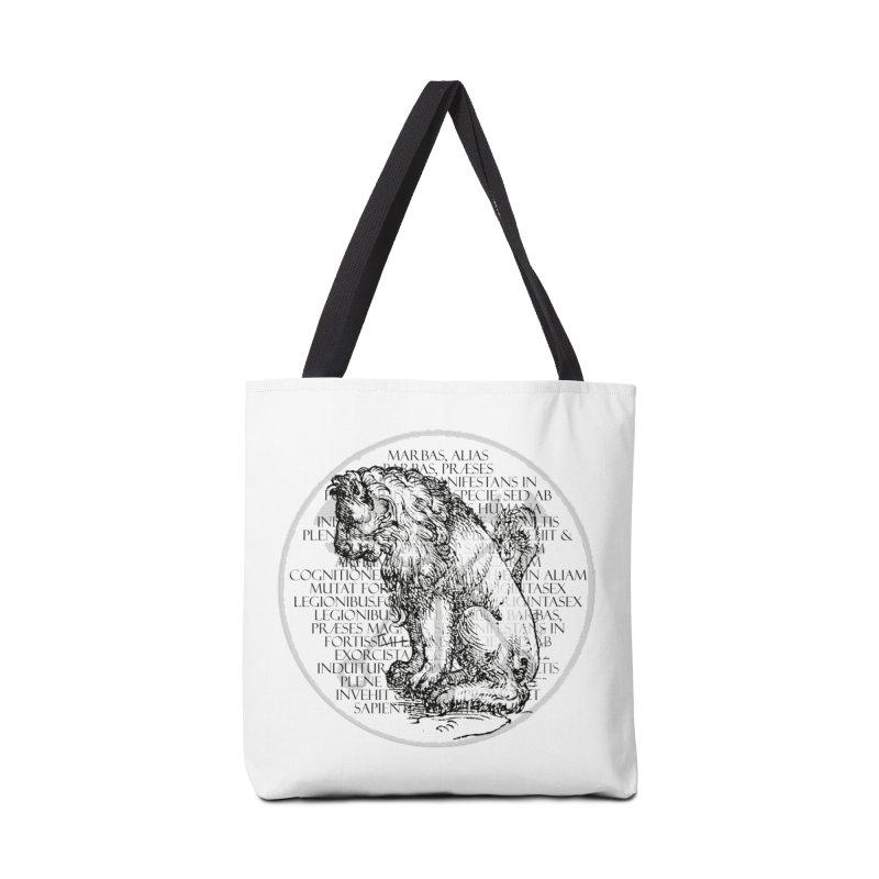 Hierarchia Inferni - Marbas Accessories Tote Bag Bag by lostsigil's Artist Shop