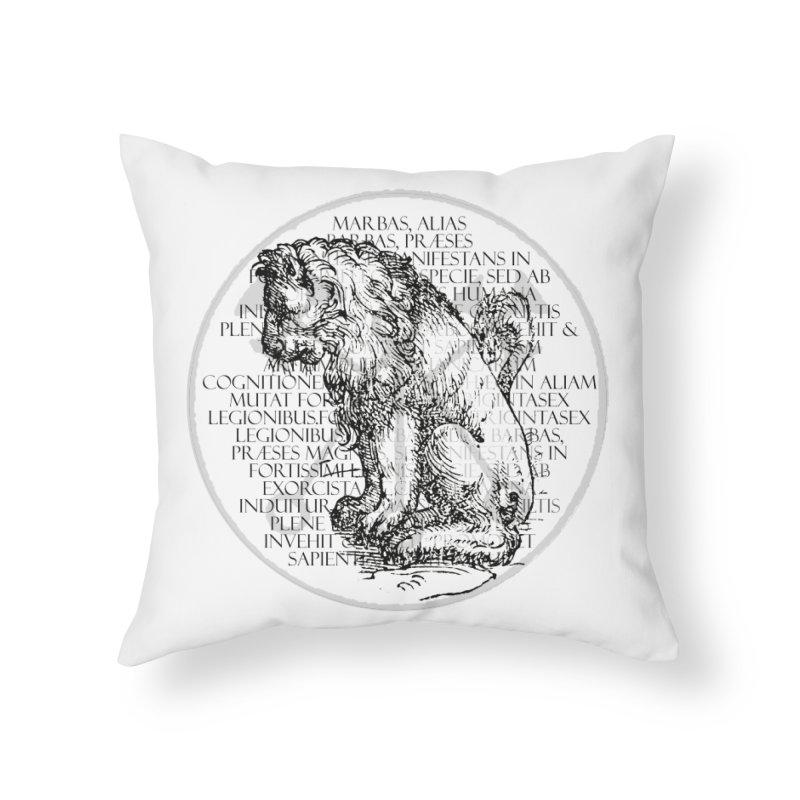 Hierarchia Inferni - Marbas Home Throw Pillow by lostsigil's Artist Shop