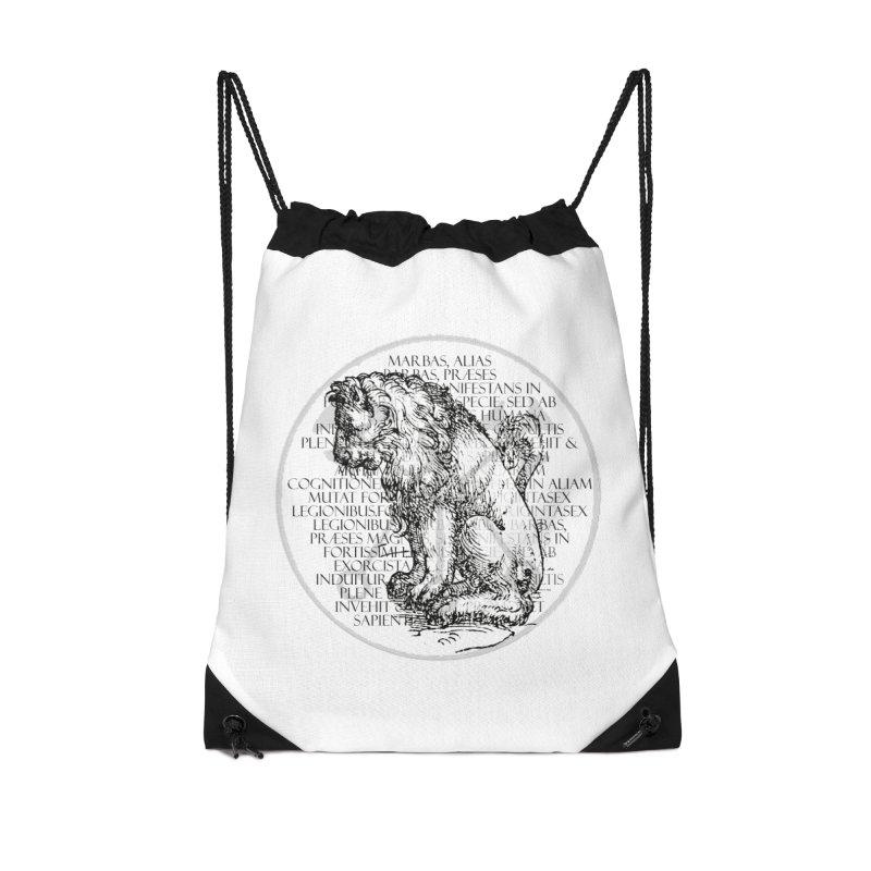 Hierarchia Inferni - Marbas Accessories Drawstring Bag Bag by lostsigil's Artist Shop