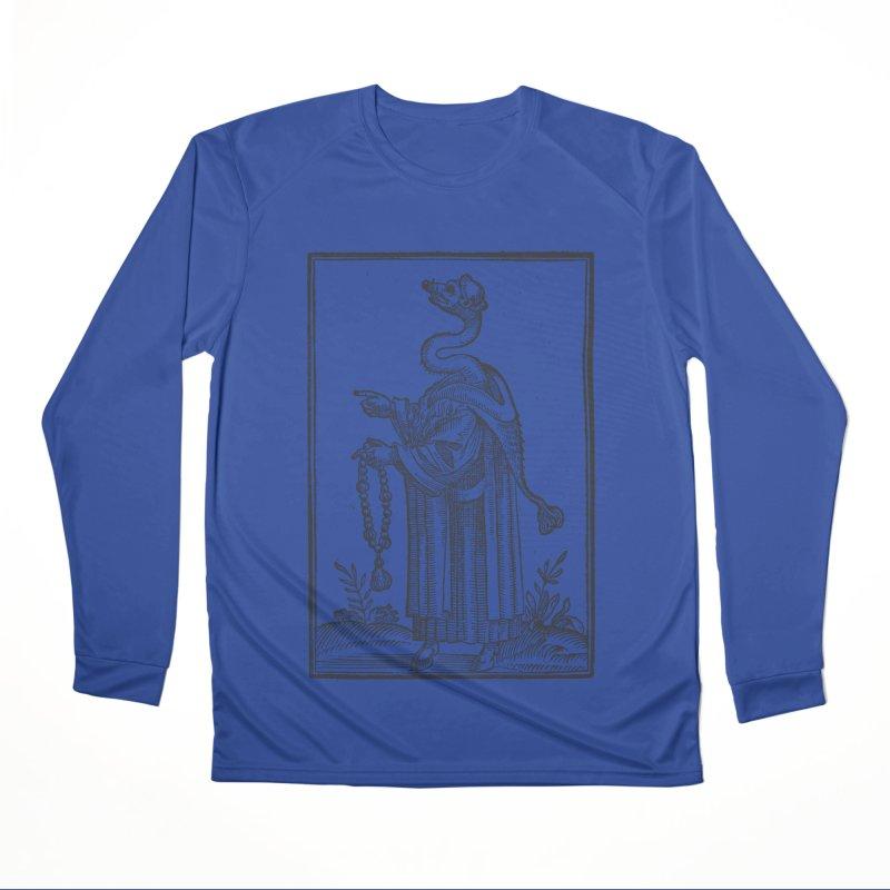 Hermetica Moderna - The Weasel Monk Men's Performance Longsleeve T-Shirt by lostsigil's Artist Shop