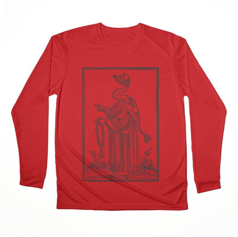 Hermetica Moderna - The Weasel Monk Women's Performance Unisex Longsleeve T-Shirt by lostsigil's Artist Shop