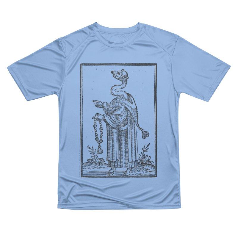 Hermetica Moderna - The Weasel Monk Women's Performance Unisex T-Shirt by lostsigil's Artist Shop