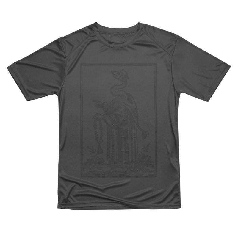 Hermetica Moderna - The Weasel Monk Men's Performance T-Shirt by lostsigil's Artist Shop