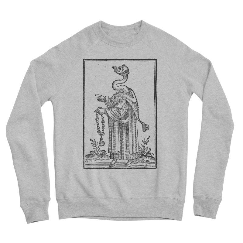 Hermetica Moderna - The Weasel Monk Men's Sponge Fleece Sweatshirt by lostsigil's Artist Shop