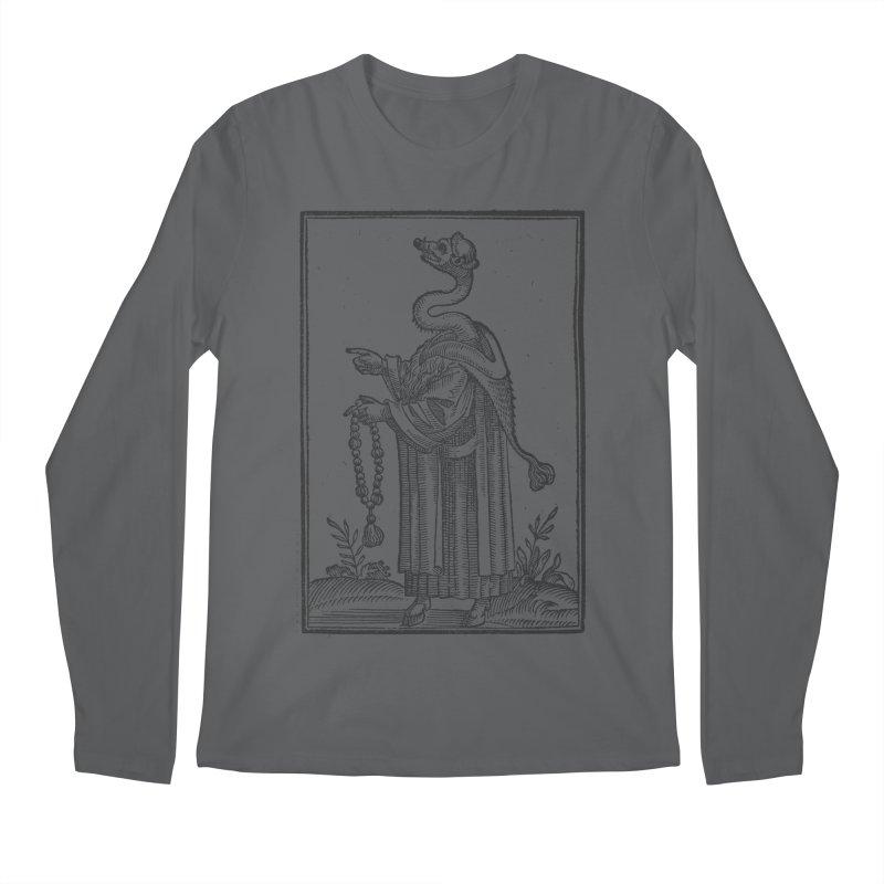 Hermetica Moderna - The Weasel Monk Men's Longsleeve T-Shirt by lostsigil's Artist Shop