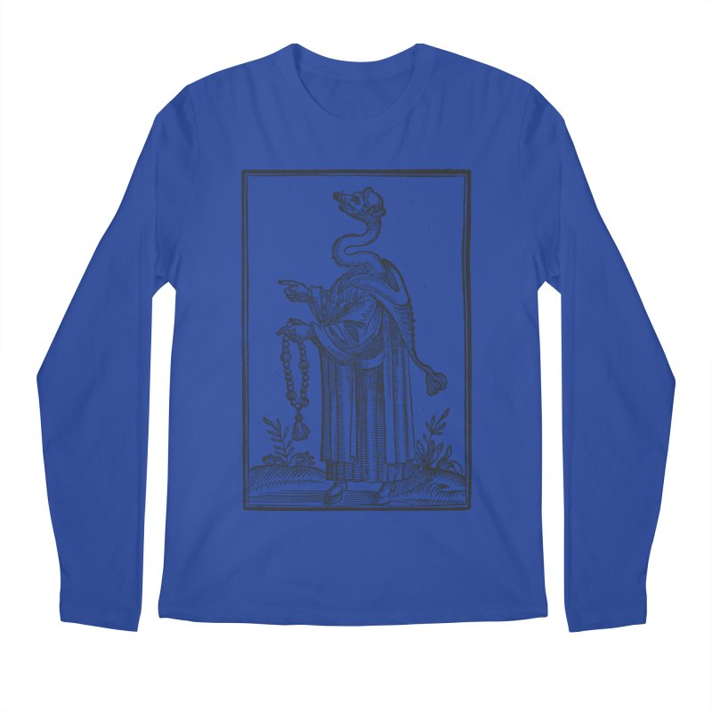 Hermetica Moderna - The Weasel Monk Men's Regular Longsleeve T-Shirt by lostsigil's Artist Shop