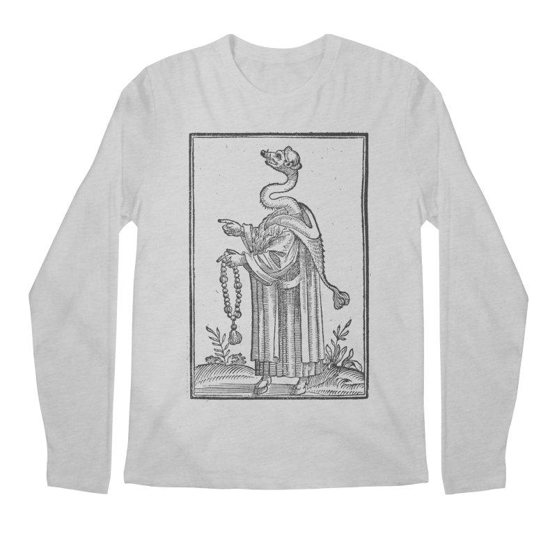 Hermetica Moderna - The Weasel Monk Men's Regular Longsleeve T-Shirt by lostsigil's Artist Shop