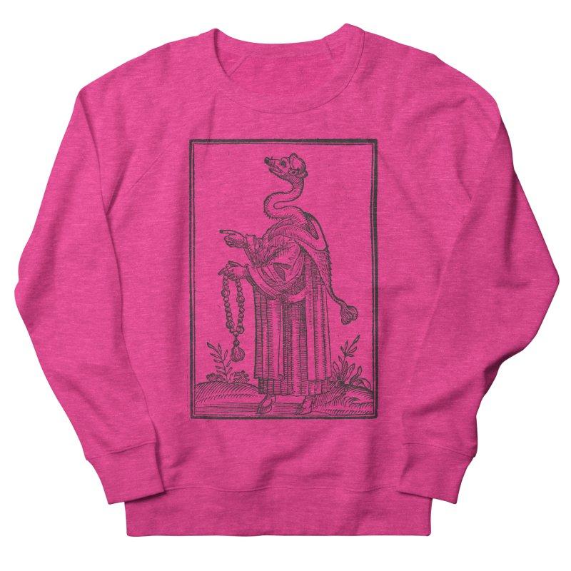Hermetica Moderna - The Weasel Monk Women's French Terry Sweatshirt by lostsigil's Artist Shop