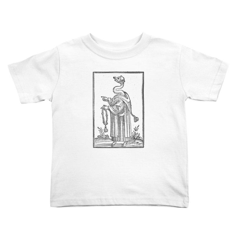 Hermetica Moderna - The Weasel Monk Kids Toddler T-Shirt by lostsigil's Artist Shop