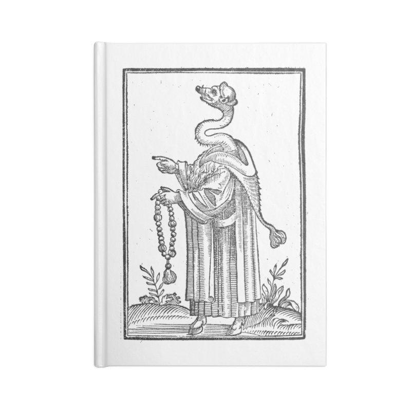Hermetica Moderna - The Weasel Monk Accessories Blank Journal Notebook by lostsigil's Artist Shop