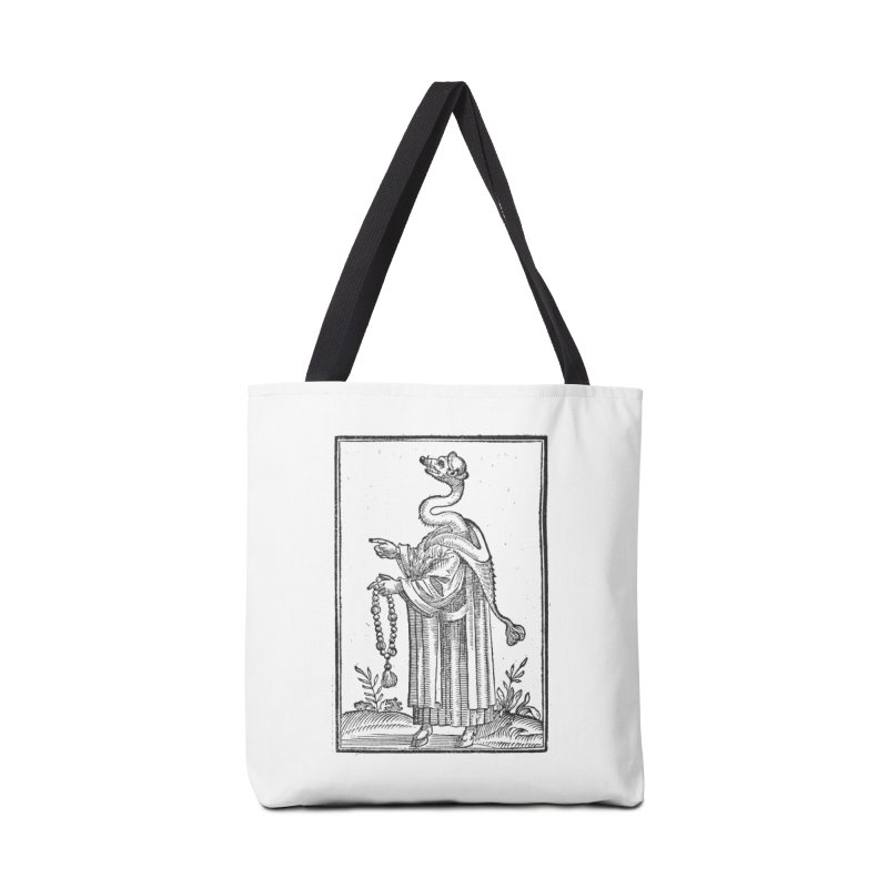 Hermetica Moderna - The Weasel Monk Accessories Tote Bag Bag by lostsigil's Artist Shop