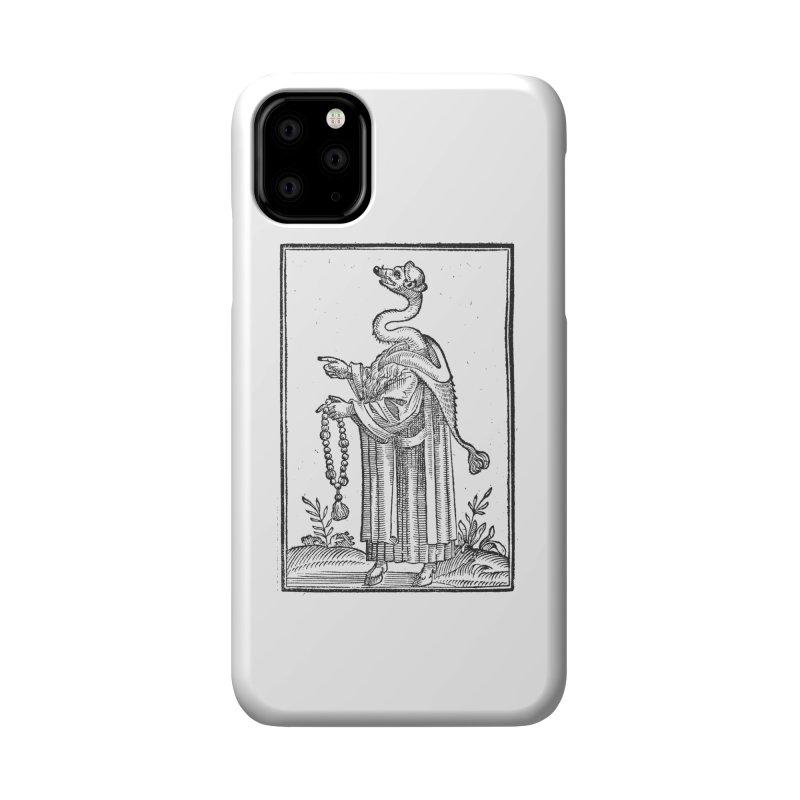 Hermetica Moderna - The Weasel Monk Accessories Phone Case by lostsigil's Artist Shop