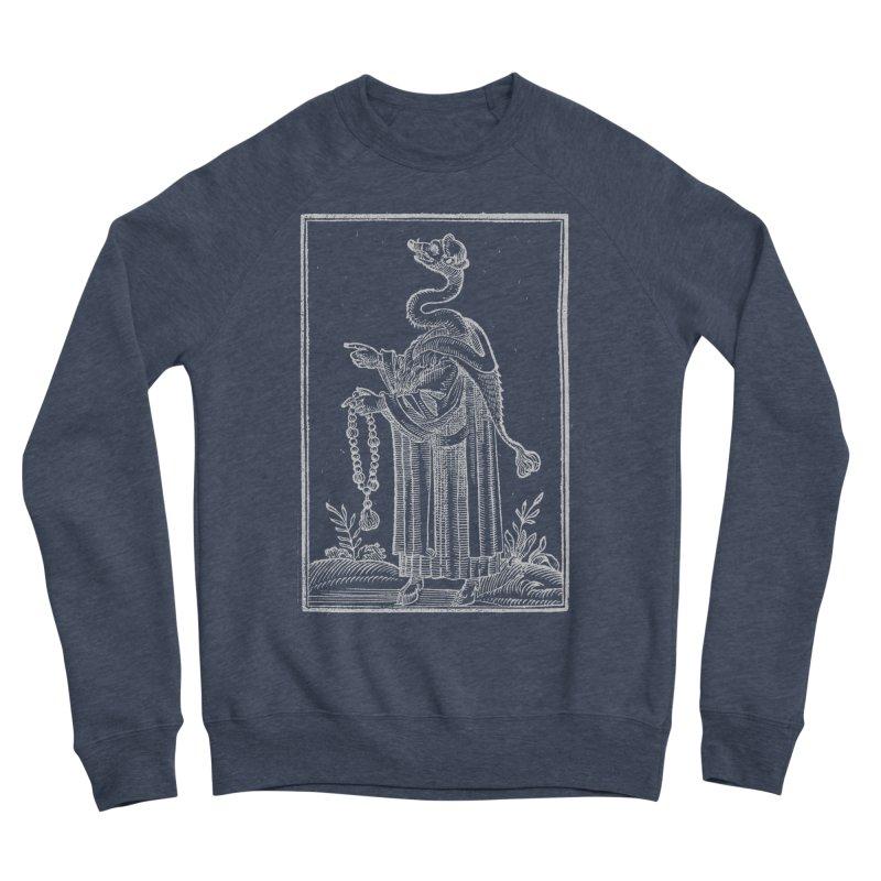 Hermetica Moderna - The Weasel Monk Dark Men's Sponge Fleece Sweatshirt by lostsigil's Artist Shop