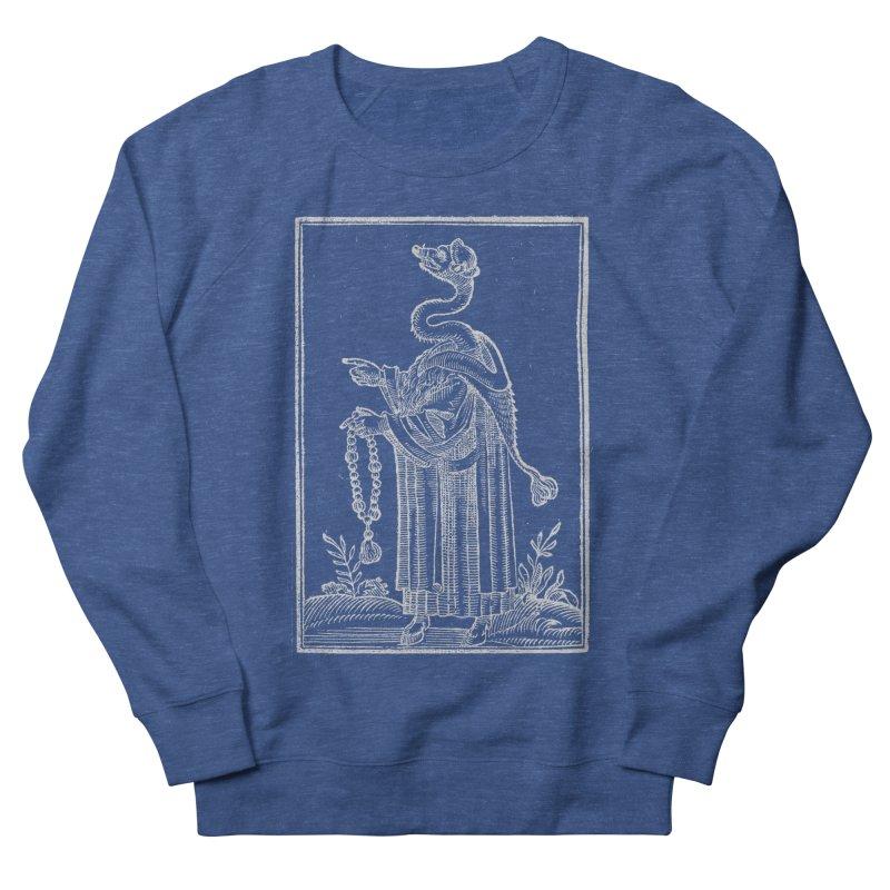 Hermetica Moderna - The Weasel Monk Dark Men's Sweatshirt by lostsigil's Artist Shop