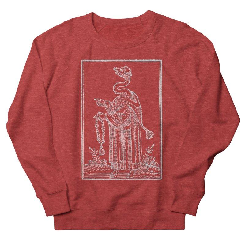 Hermetica Moderna - The Weasel Monk Dark Men's French Terry Sweatshirt by lostsigil's Artist Shop