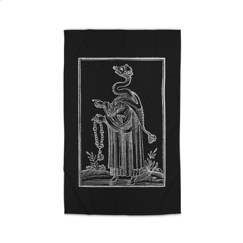 Hermetica Moderna - The Weasel Monk Dark Home Rug by lostsigil's Artist Shop