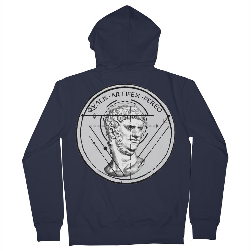 Collective unconscious - Scaenici Imperatoris Women's French Terry Zip-Up Hoody by lostsigil's Artist Shop