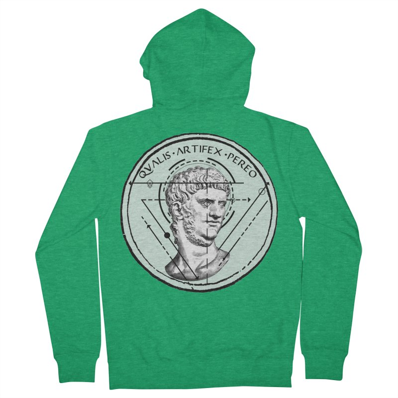 Collective unconscious - Scaenici Imperatoris Men's French Terry Zip-Up Hoody by lostsigil's Artist Shop