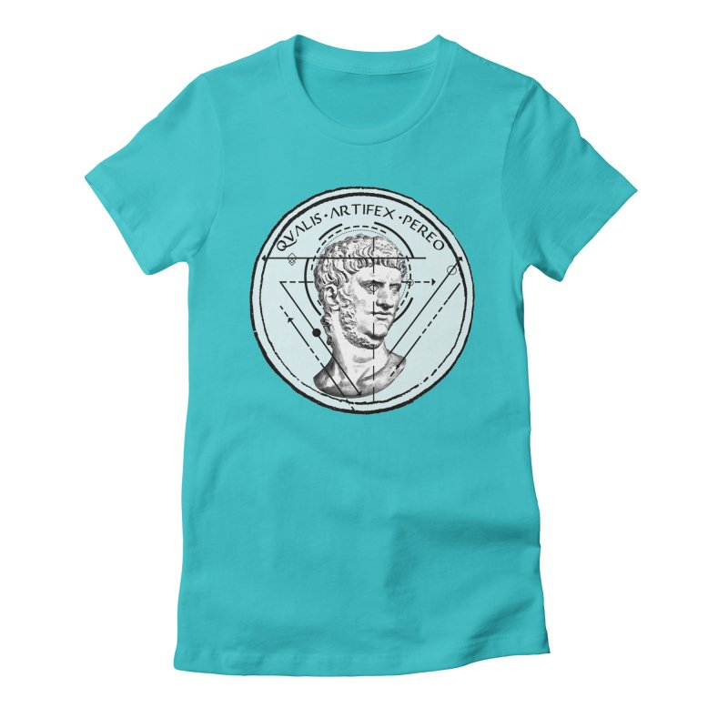 Collective unconscious - Scaenici Imperatoris Women's Fitted T-Shirt by lostsigil's Artist Shop