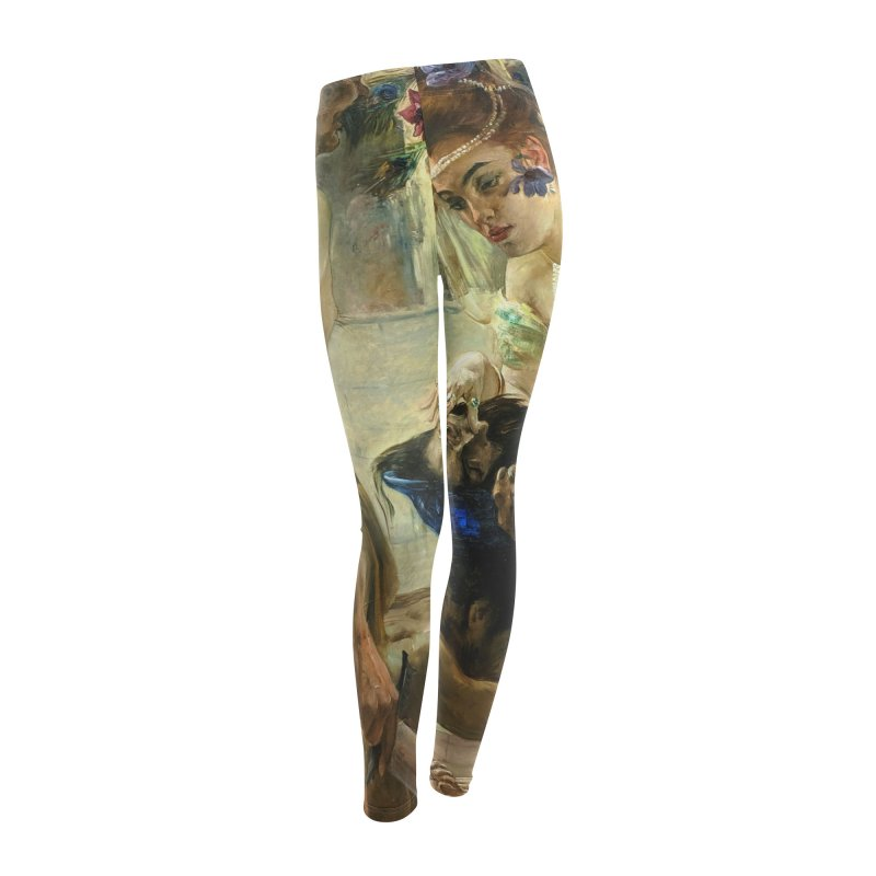 Vivid Retro - The Passion of Salome Women's Leggings Bottoms by lostsigil's Artist Shop
