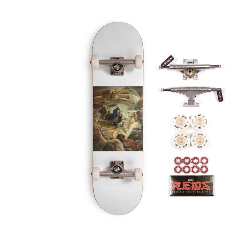 Vivid Retro - The Passion of Salome Accessories Complete - Pro Skateboard by lostsigil's Artist Shop