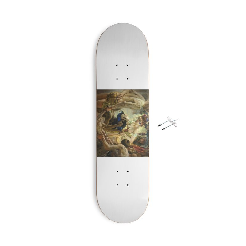 Vivid Retro - The Passion of Salome Accessories With Hanging Hardware Skateboard by lostsigil's Artist Shop