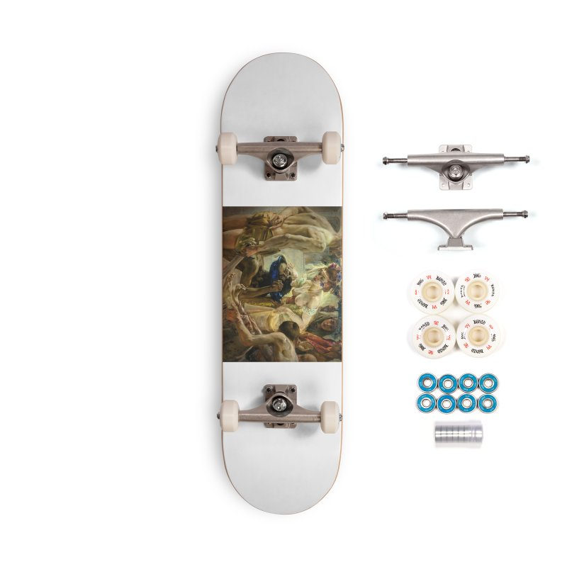 Vivid Retro - The Passion of Salome Accessories Complete - Premium Skateboard by lostsigil's Artist Shop