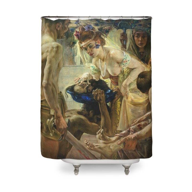Vivid Retro - The Passion of Salome Home Shower Curtain by lostsigil's Artist Shop