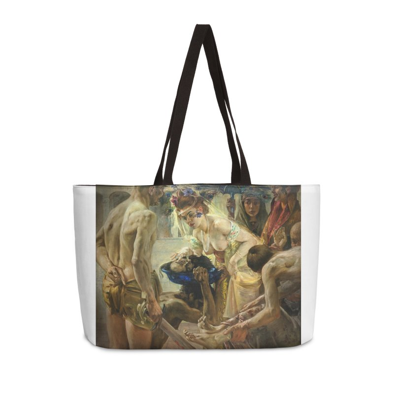 Vivid Retro - The Passion of Salome Accessories Weekender Bag Bag by lostsigil's Artist Shop