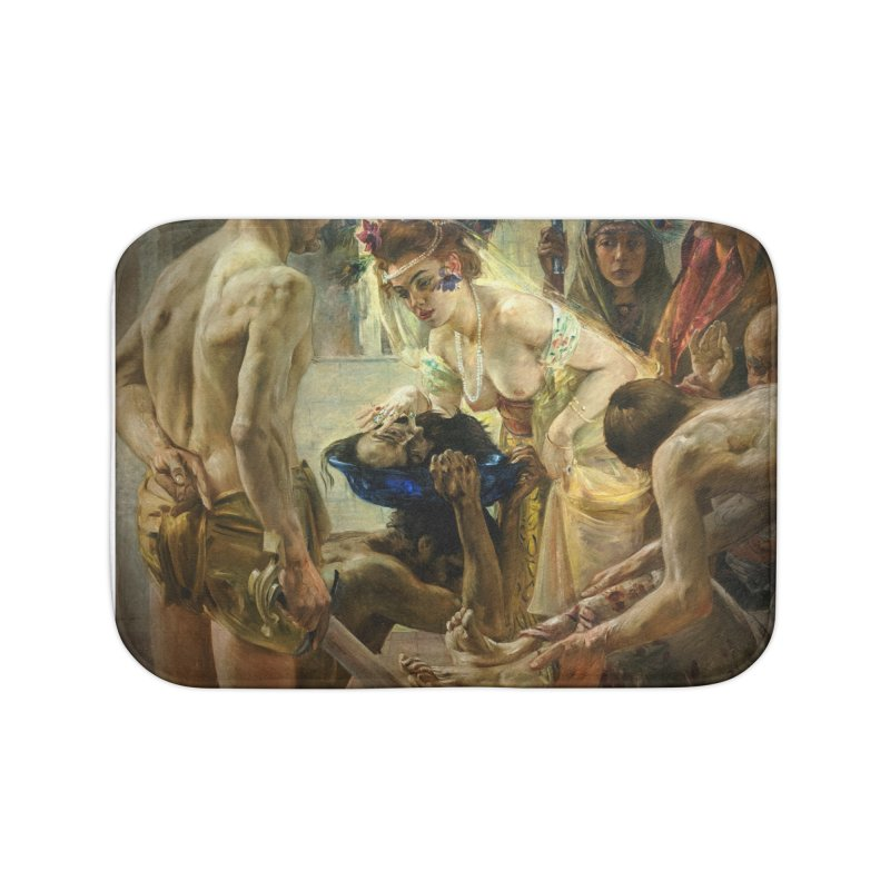 Vivid Retro - The Passion of Salome Home Bath Mat by lostsigil's Artist Shop