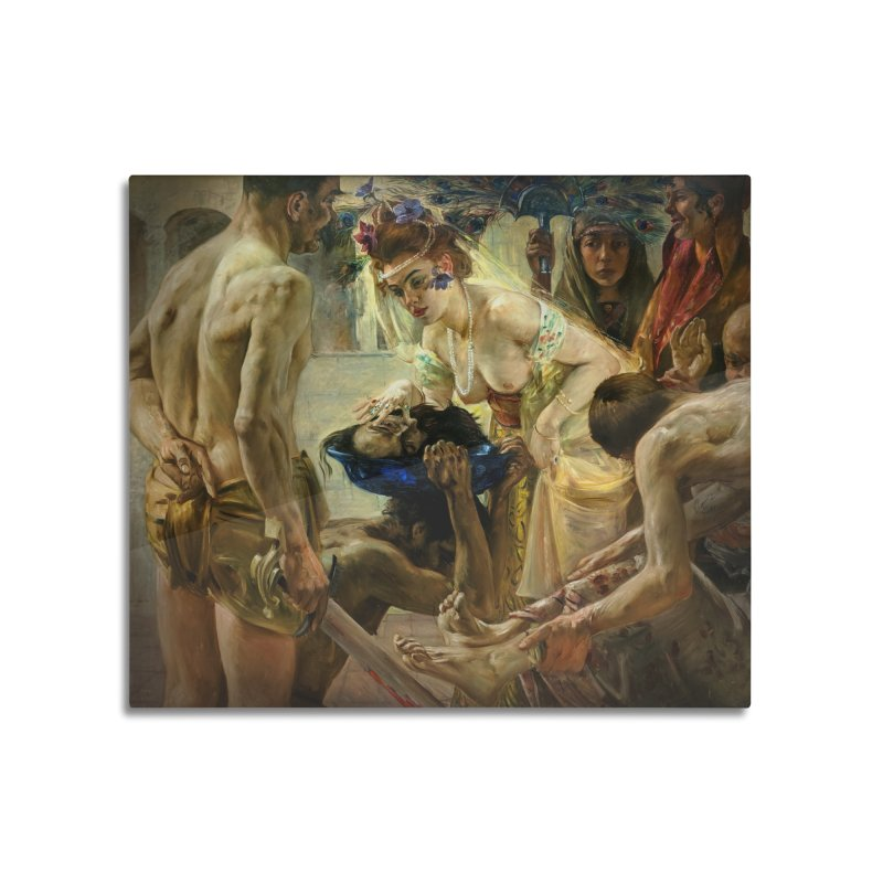 Vivid Retro - The Passion of Salome Home Mounted Aluminum Print by lostsigil's Artist Shop