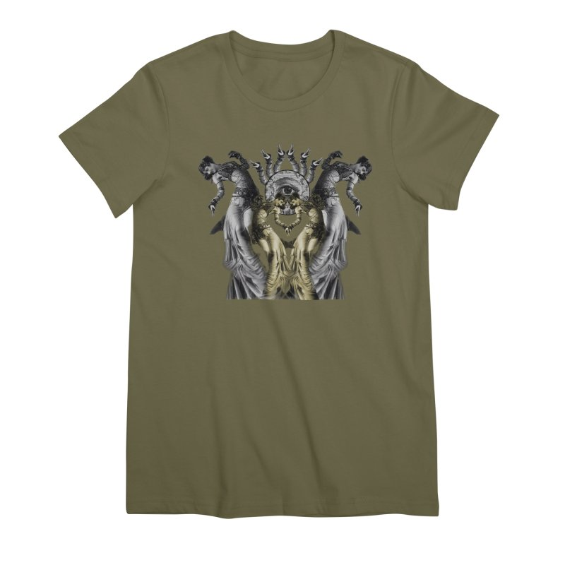 The Occult Dance Women's Premium T-Shirt by lostsigil's Artist Shop
