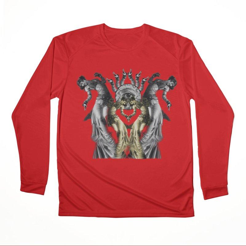 The Occult Dance Men's Performance Longsleeve T-Shirt by lostsigil's Artist Shop