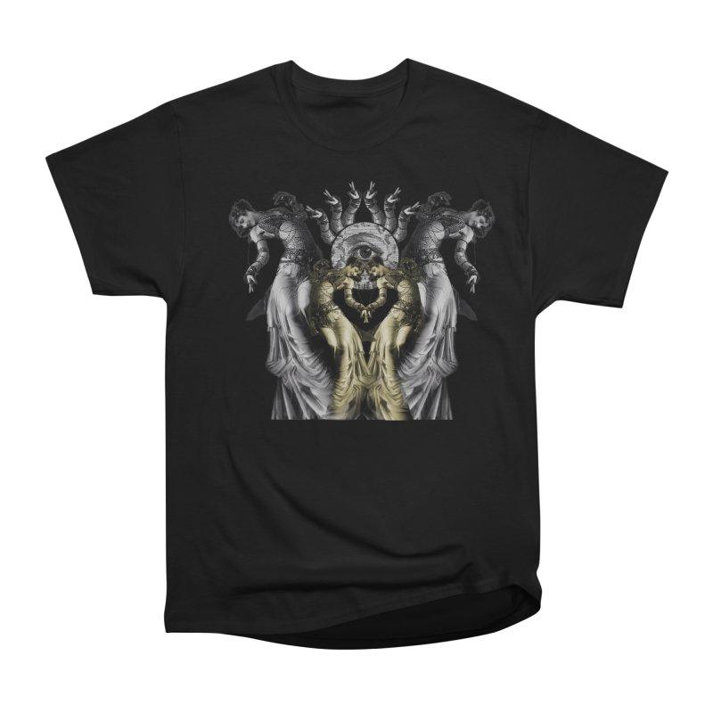 The Occult Dance Women's Heavyweight Unisex T-Shirt by lostsigil's Artist Shop