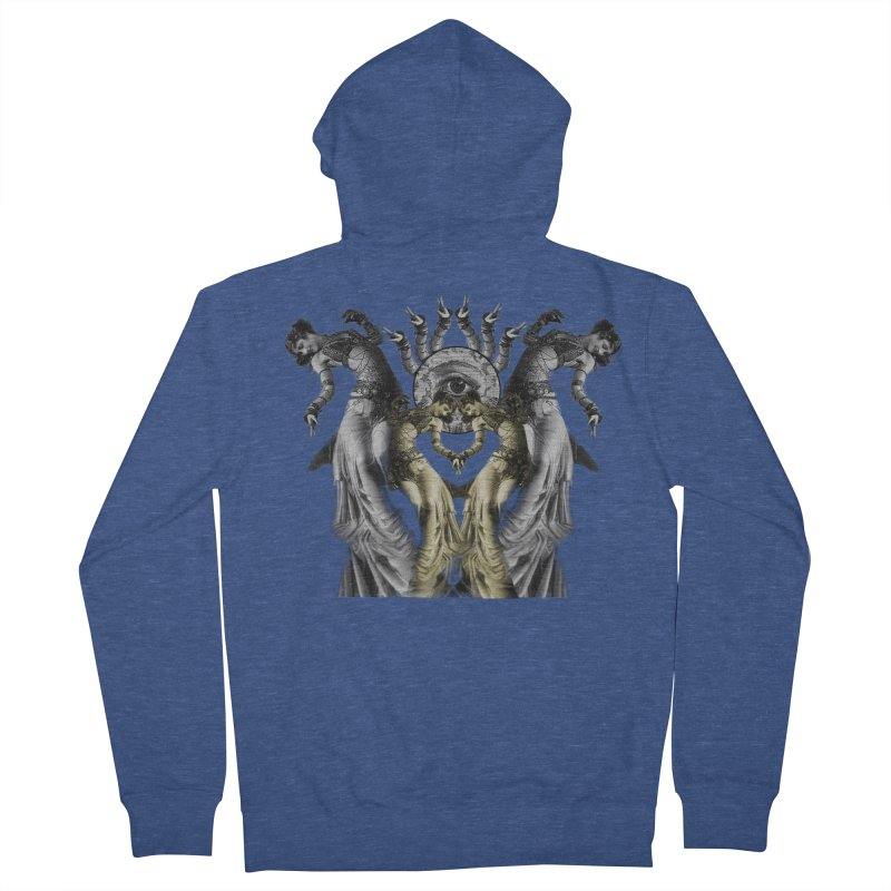 The Occult Dance Women's French Terry Zip-Up Hoody by lostsigil's Artist Shop