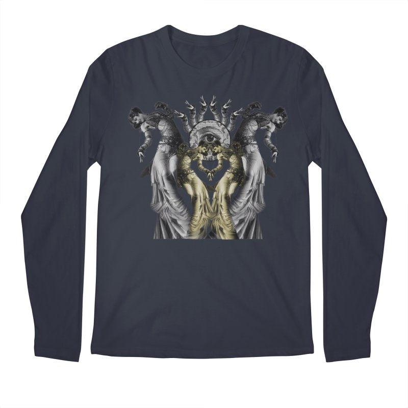 The Occult Dance Men's Regular Longsleeve T-Shirt by lostsigil's Artist Shop